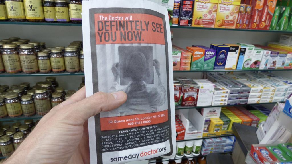 Samedaydoctor targets local pharmacies with OOH campaign